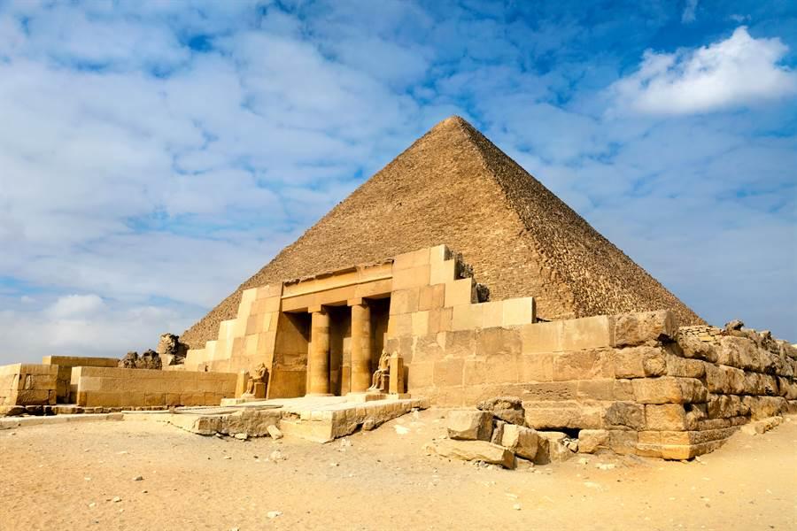 挖出埃及人日誌 揭金字塔建造秘密(示意圖/達志影像)