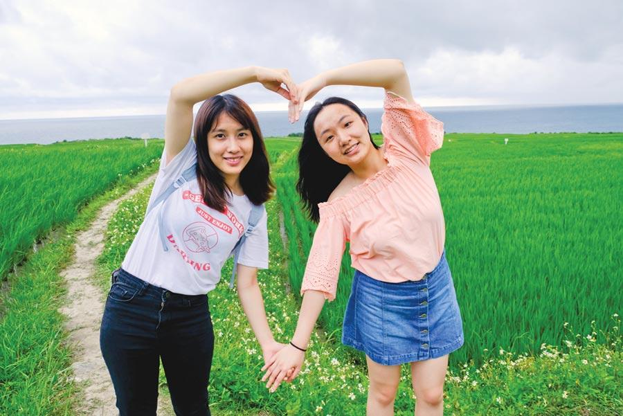 《花蓮趣》29期介紹適合女孩們出遊打卡的花蓮藍色大海。圖/《花蓮趣》提供