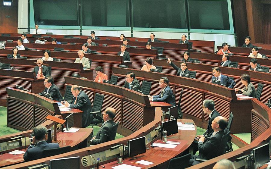 林鄭月娥表示《逃犯條例》草案已壽終正寢。圖為香港立法會。(中新社資料照片)