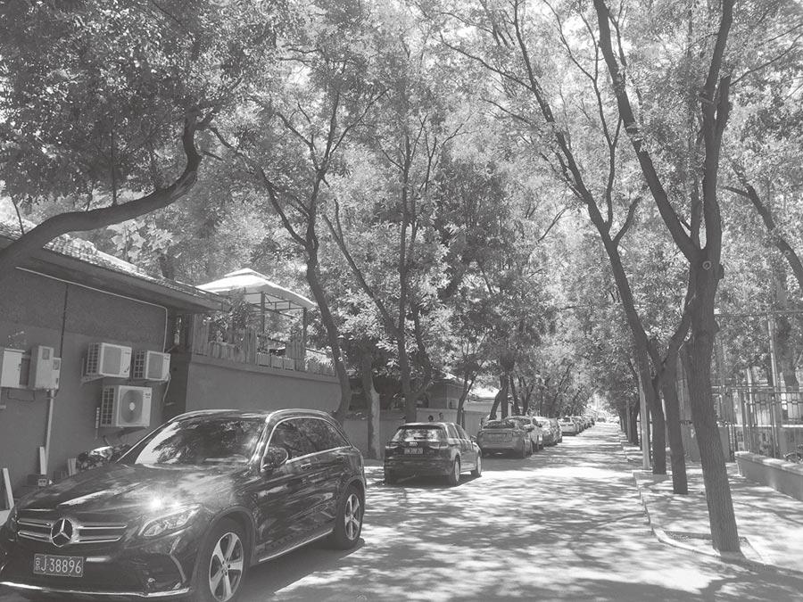 北京藍旗營小區,人情味特別濃烈,家家戶戶彼此守望相助。(作者提供)