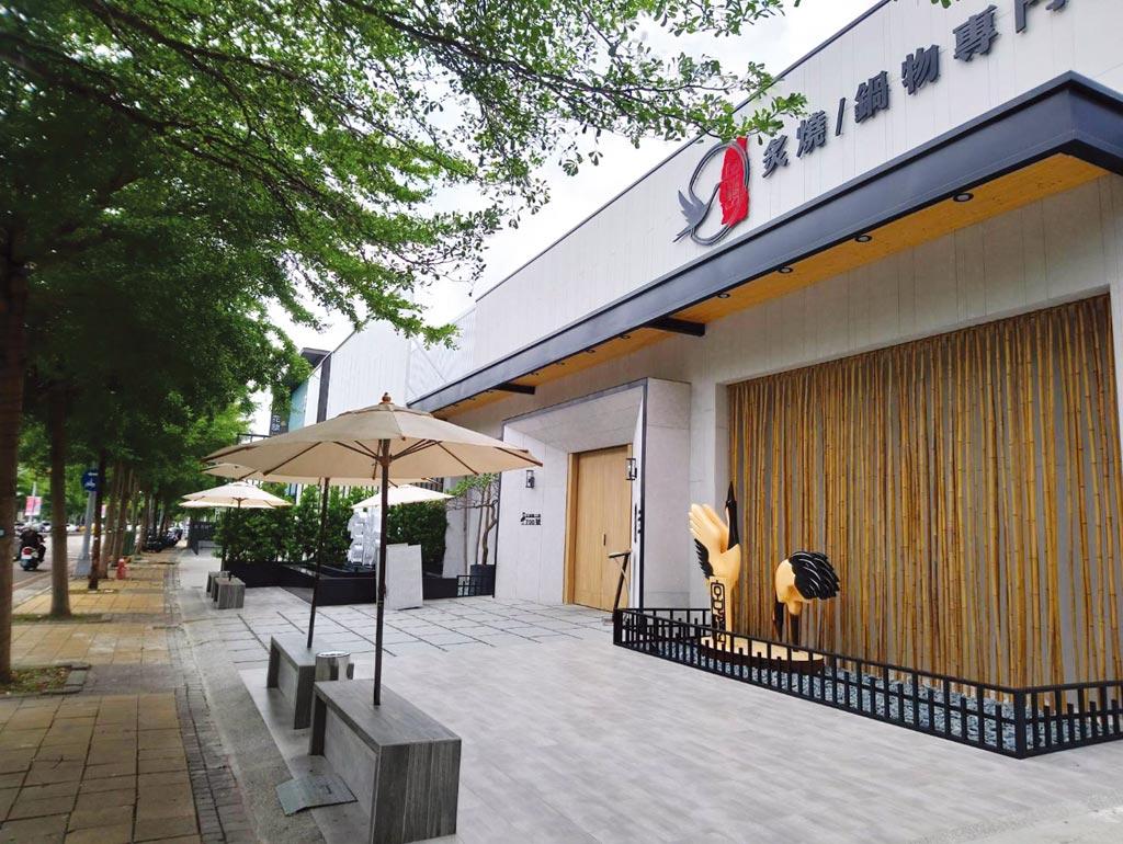 隨著大型餐廳爭相進駐新公益路商圈,帶動周邊租金行情節節上漲。圖/曾麗芳