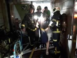 北市錦州街民宅火警 1人嗆傷送醫不治