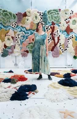 海洋編織藝術展 「珊瑚掛毯」籲保護海洋