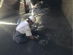 神農路為何又淹水? 高市府:沒清淤會更嚴重