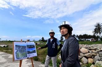 打通台東市四維路 濱海綠廊預計2個月後完工