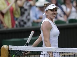 前球后擊退烏克蘭美女 首闖溫網女單決賽