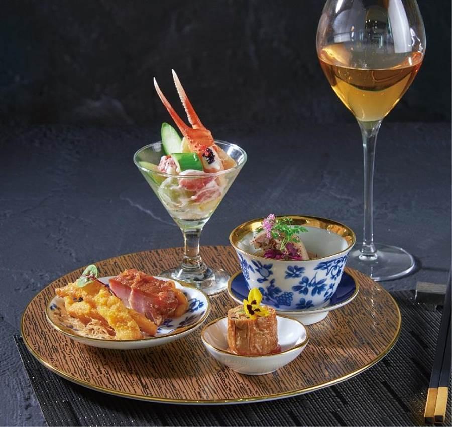 微風南山SHIN PU YUAN新葡苑四十六限定套餐,原價3280元、特價2980元+10%,每日限量50客。(微風提供)
