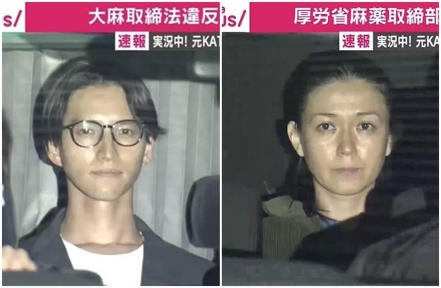 小嶺麗奈今日開庭突然當眾向田口淳之介求婚。(取自日網)