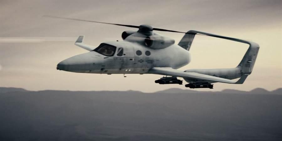 Skyworks Global計畫研發一種直升飛機(heliplane),名叫VertiJet,意思是垂直噴射機。(圖/Skyworks)