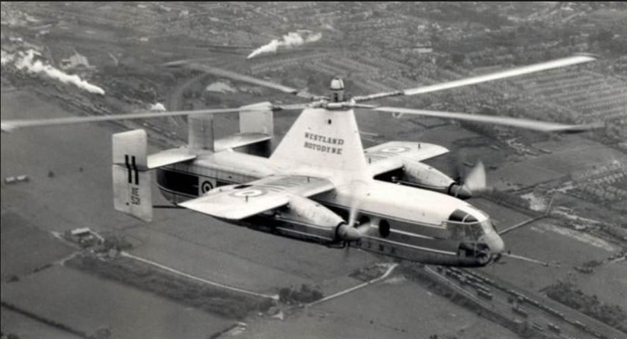 1950年代,英國費爾雷航空公司研發費爾雷旋翼飛機,性能不錯,安全性也夠,可惜敗在噪音過大的問題。(圖/westland)