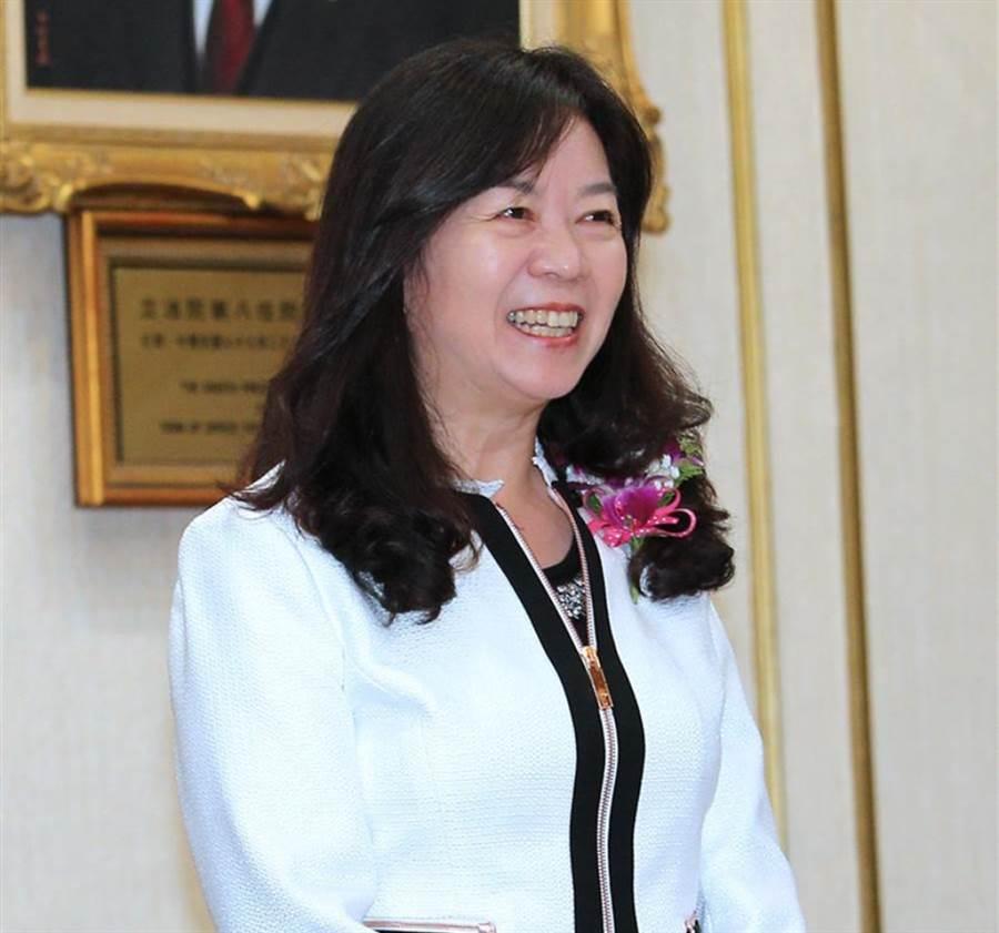 國民黨籍立委童惠珍。(資料照片,黃世麒攝)