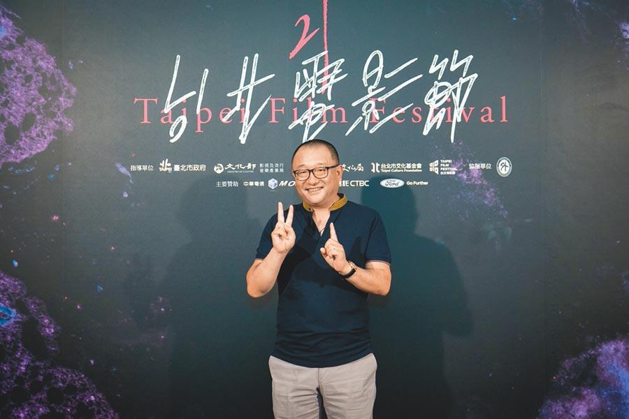 王小帥出席映後對談,分享拍攝電影的趣事。