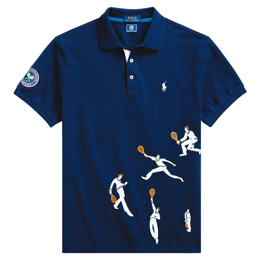 Polo Ralph Lauren溫布頓系列Polo衫,5880元。(Polo Ralph Lauren提供)