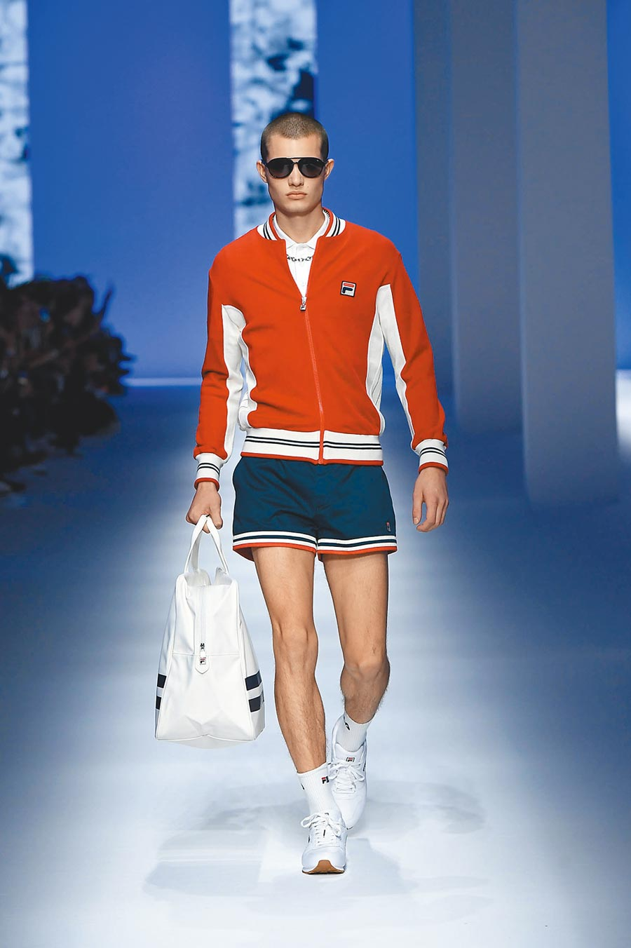 FILA於1970年代,贊助眾多頂尖網球選手,其中以傳奇「歐洲大滿貫之王」比約恩博格的專屬服裝,最為知名。(FILA提供)