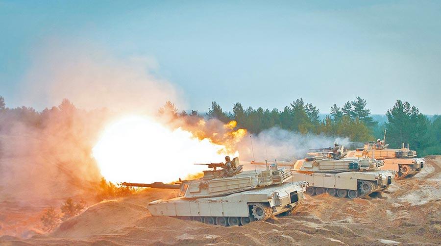 美國將對台軍售M1A2坦克。(取自美國陸軍官網)