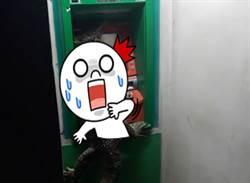 驚! 巨獸ATM提款 手還會遮密碼