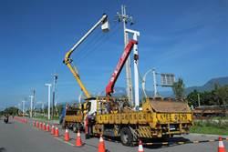 恢復縣道193最美天際線 電桿地下化第一期下周完工