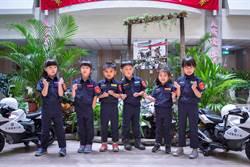 警察局暑假「爆紅」小小警察營報名1.4萬人