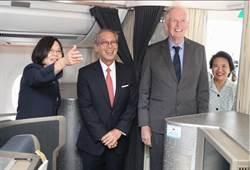 總統出訪 管碧玲:「過境禮遇」史無前例