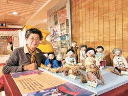 迷路奇遇 87歲嬤手作遶境陣頭布偶