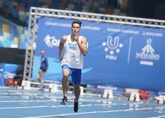 北市秋季全國田徑賽 「台灣最速男」破大會