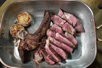獨》不輸美澳牛肉!罕見台灣帶骨沙朗牛排東區TK牛排館開賣