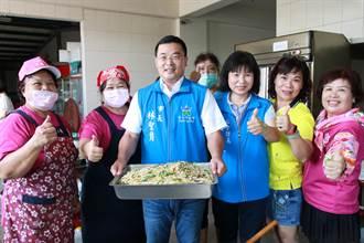 斗六市推動長青食堂 31人以上補助一名廚工薪資