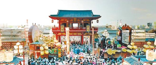 《長安十二時辰》講述了盛唐時期天寶三年上元節時發生在唐城內的一次刺客行動。(取自豆瓣網)