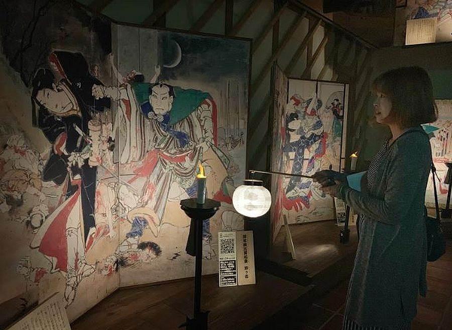 「繪金藏」為江戶時代歌舞伎場景浮世繪。(圖取自活動官網)