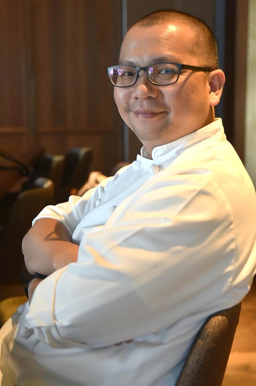 〈 TK SEAFOOD & STEAK〉主廚蔡泰源的廚功札實,不走花俏取巧路線,他烹調料理的牛排與海鮮風味和口感都很有水準。(圖/姚舜)