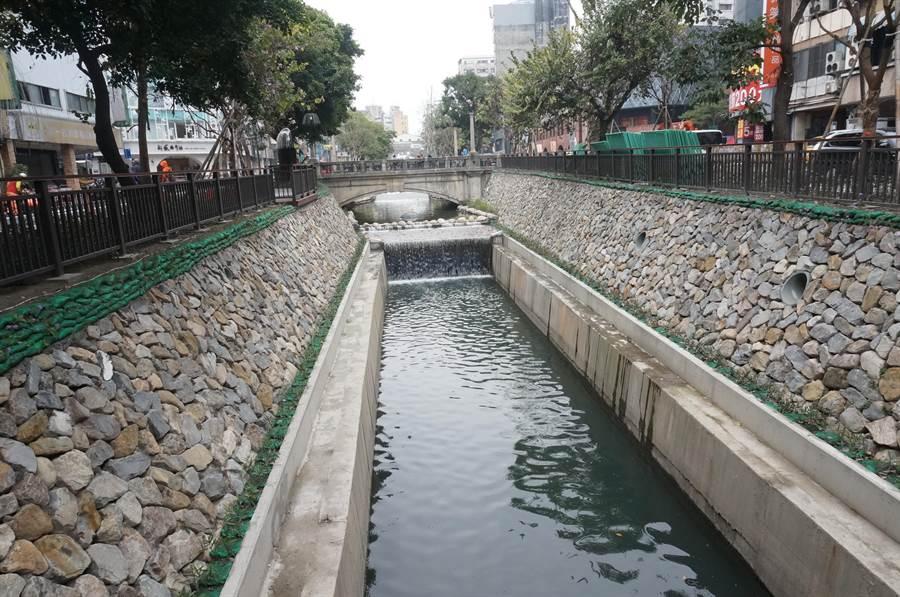 台中市府水利局表示,將魚群移往更適合其生存的下游正規河段,才能達到護魚目的。(盧金足攝)