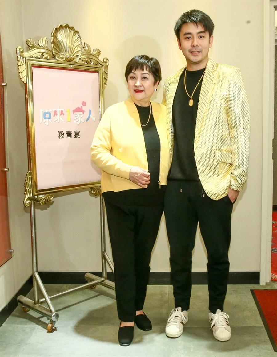 甄珍和劉子千。(圖/資料照)