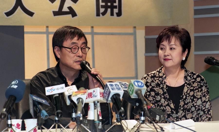 劉家昌和甄珍當年同時面對谷名倫自殺風波。(圖/資料照)