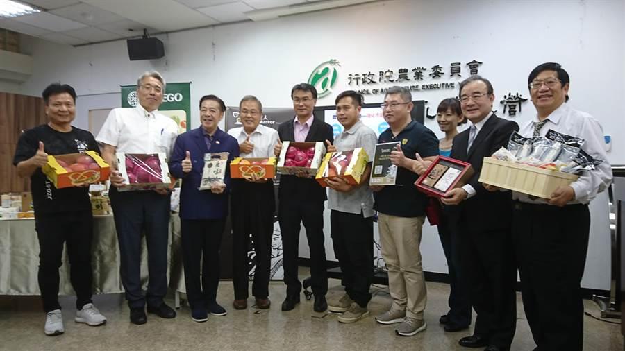 农委会表示,农产品外销上半年成果亮眼。(廖德修摄)