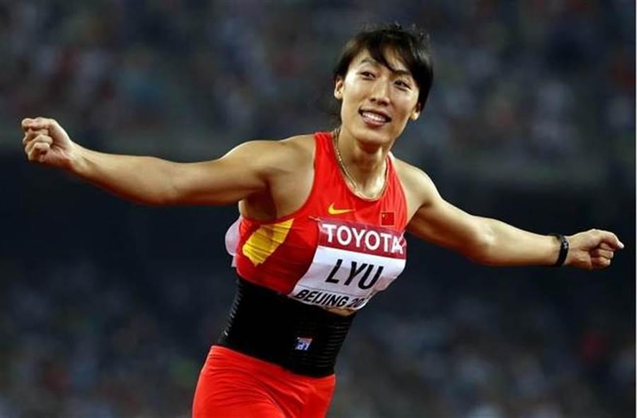 大陸女子標槍好手呂會會第七次改寫亞洲紀錄。(新華社資料照)