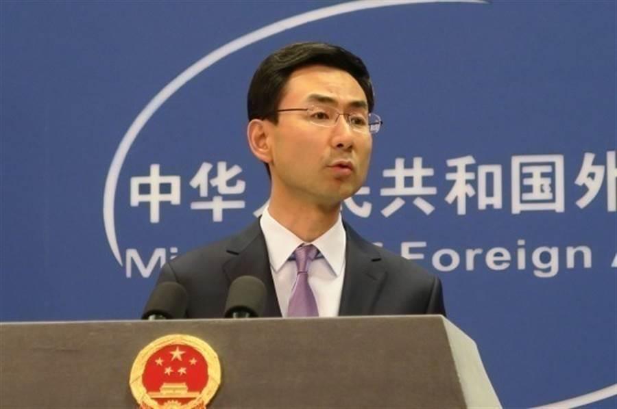 中共外交部發言人耿爽表示,大陸將對出口武器到台灣的美國企業實施制裁措施。(圖/本報檔案照片)