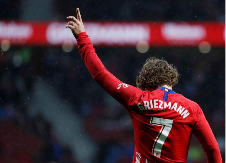 格里茲曼跟馬德里競技說掰掰。(路透資料照)
