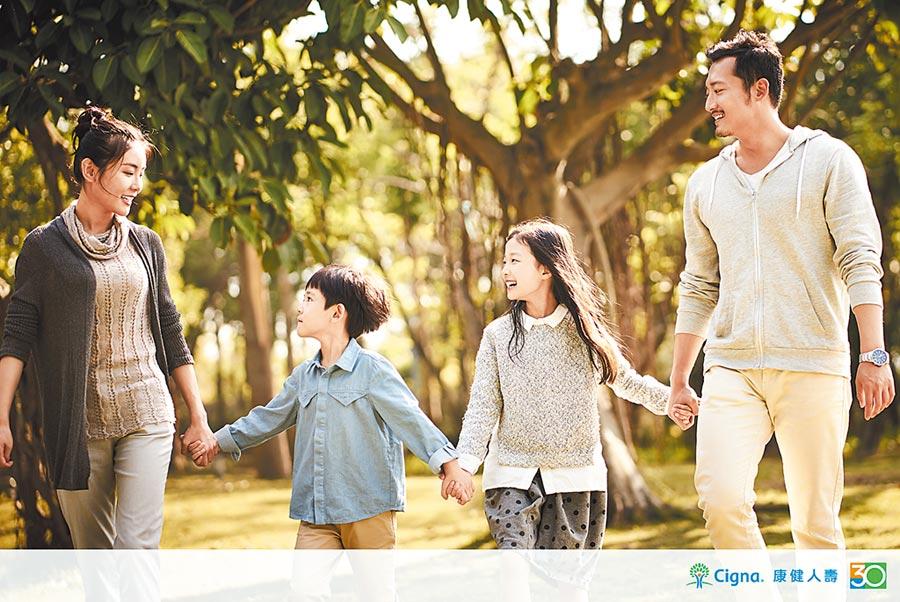 康健人壽健康外溢保單,創造健康優惠保障。圖/業者提供