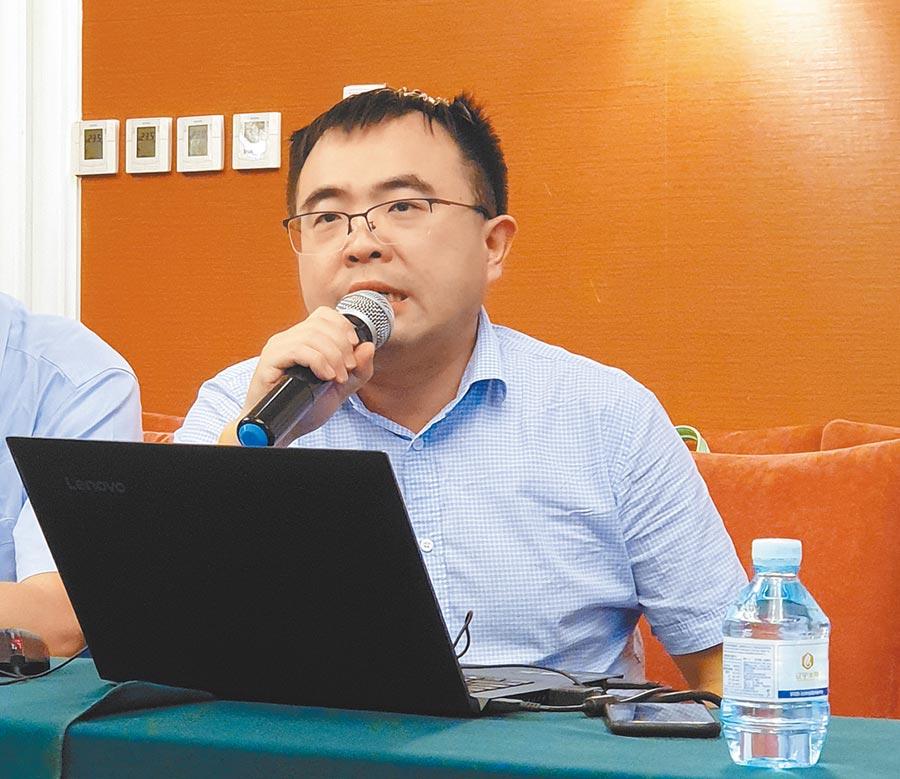 西南政法大學國際法學院副教授謝小慶。(記者藍孝威攝)