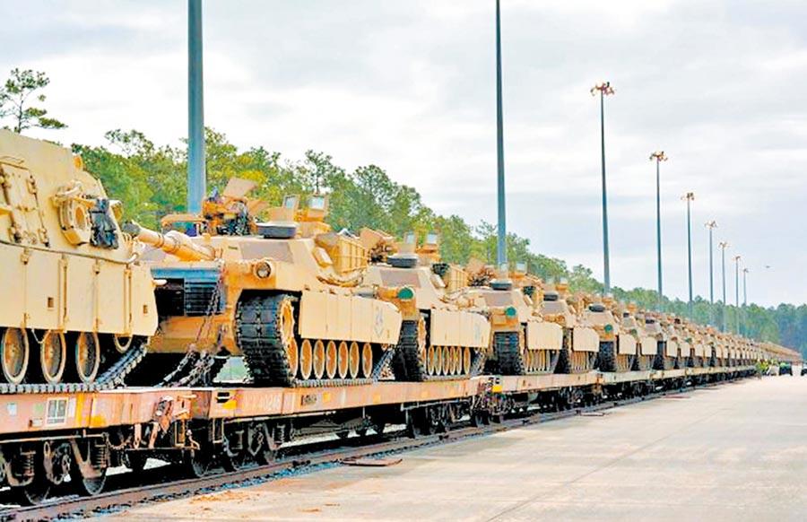 美國軍售台灣108輛M1A2戰車,陸方強烈不滿。(取自美國陸軍官網)