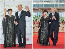甄珍牽手韓國瑜   盼高雄成為亞洲好萊塢