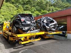 國道水泥車撞4自小客 7歲童傷重不治