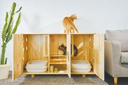 居家創意fu-毛小孩格子櫃 裝潢最速配