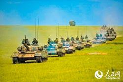 模擬對台作戰 陸朱日和演習開打