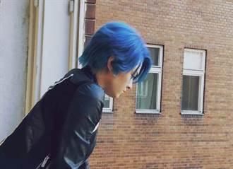 張榕容變身「藍髮少女」!刻苦練武打全身瘀青
