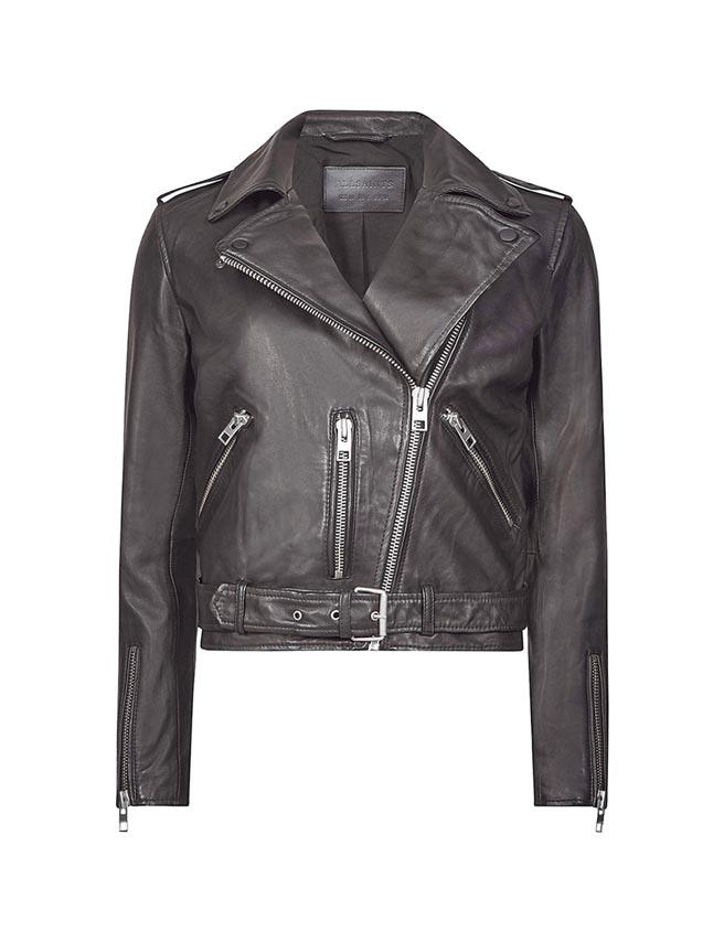 AllSaints Balfern騎士夾克,1萬7900元。(AllSaints提供)