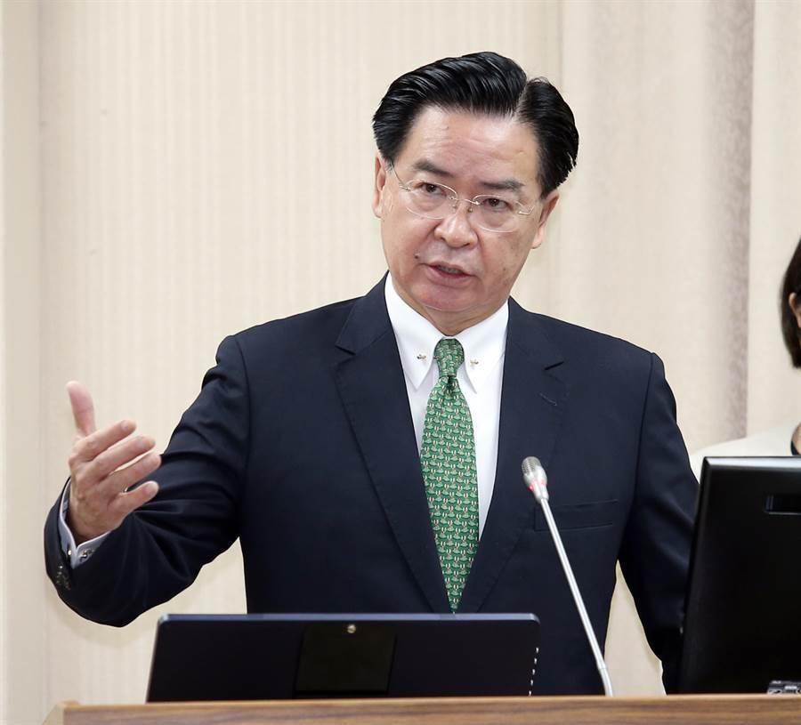 圖為外交部長吳釗燮。(本報系資料照)