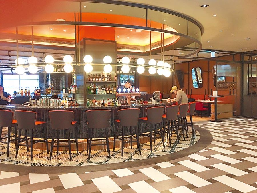 信義區餐酒吧密集,就連星廚與侍酒師在此密集度也極高。圖/李麗滿