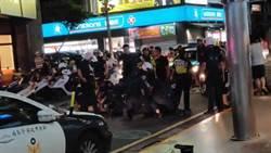 新莊5莽男酒後滋事 竟出手攻擊巡邏員警