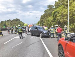 國道3號追撞車禍 家族出遊7歲男童不治
